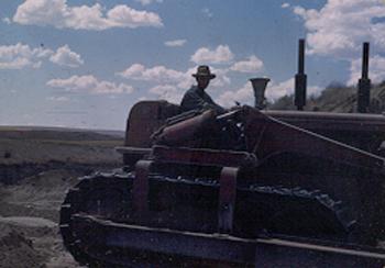Bulldozer driver 1951
