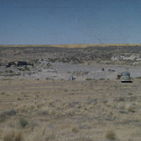 Distant view of site from the west 1952
