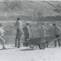 Work in progress at C1, 1968