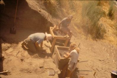 Excavation in Progress, Area B, 1967