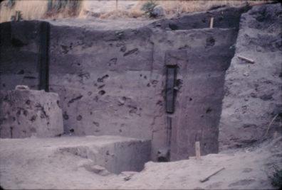 Monolith preparation, Area A, 1967