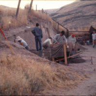 Excavation in progress, Area C, 1967