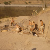 Work in progress at Area C July 1968
