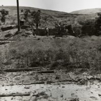 Excavation in progress in Area A,, 1967