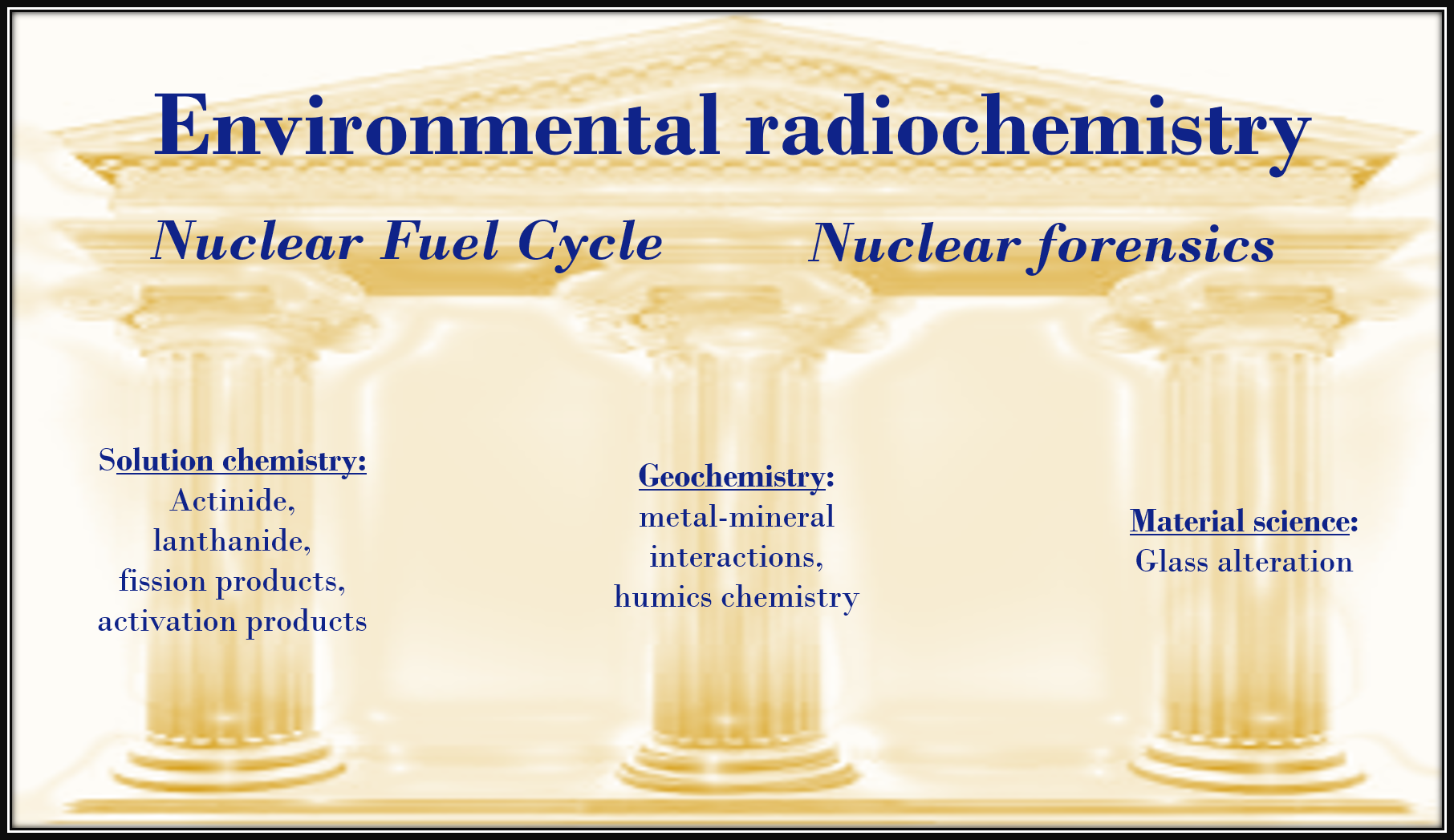 Wsu environmental health safety environmental health - Our Research Focuses On The Environmental Behavior Of Radionuclides Our Main Goal Is To Provide Valuable Data For The Detection Of Nuclear Material In The