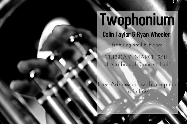 twophonium event poster