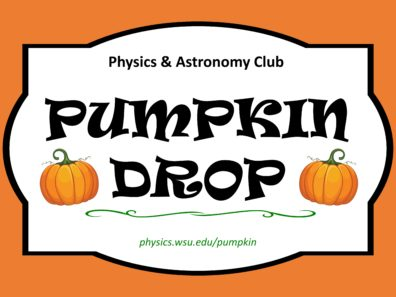 14th Annual Pumpkin Drop | Events | Washington State University