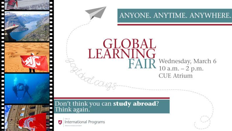 Global learning fair poster
