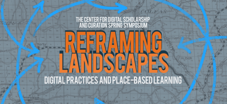 CDSC Spring symposium: re-framing landscapes poster