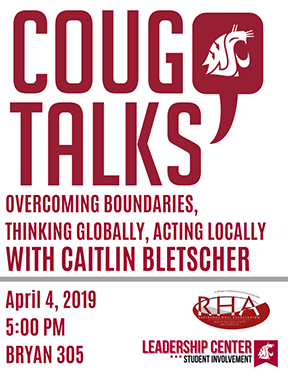 Cougs Talks Flyer