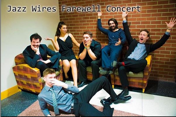 Jazz wires farewell concert poster