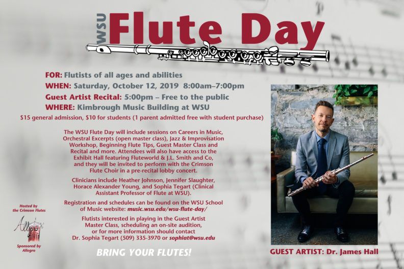 Flute Day Poster
