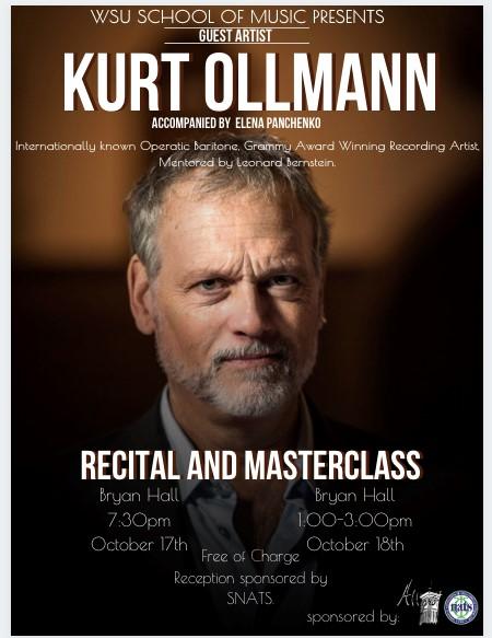 Kurt Ollmann Event Poster