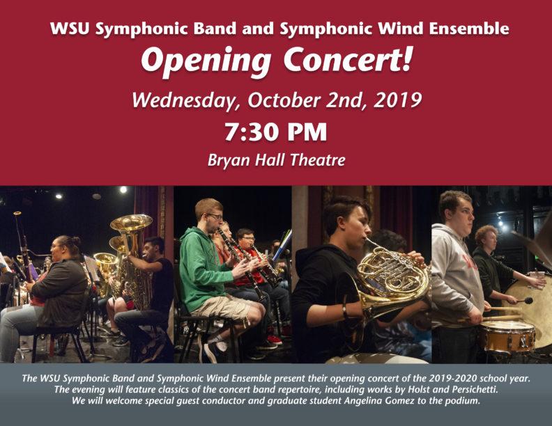 Symphonic Band Concert Oct 2019 poster