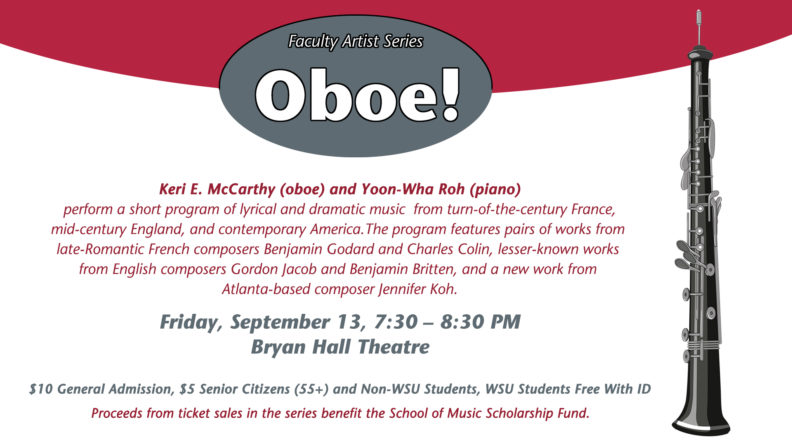 Faculty Artist Series: OBOE! + LIVESTREAM | Events