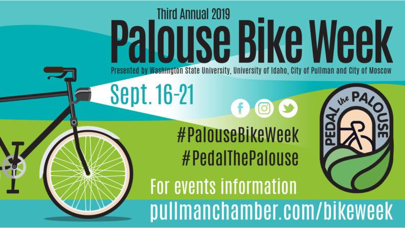 palouse bike poster