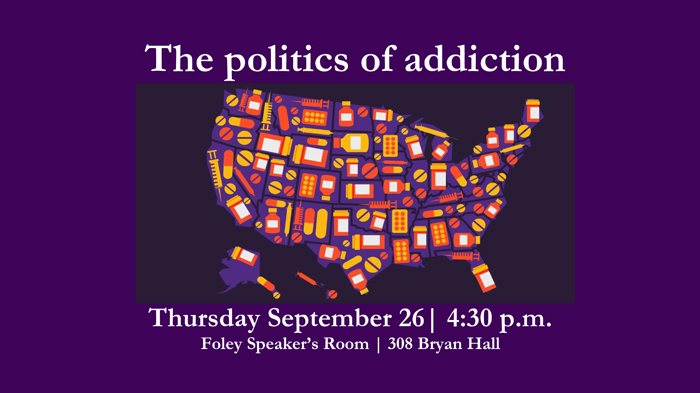 the politics of addiction poster