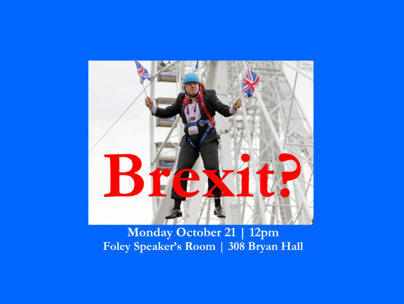 Brexit? Event Poster