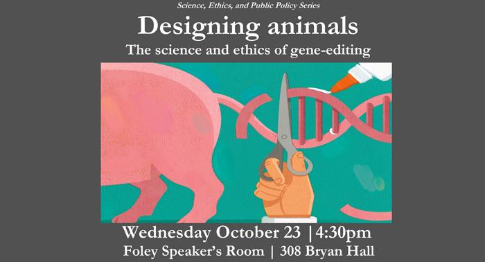 Designing animals poster