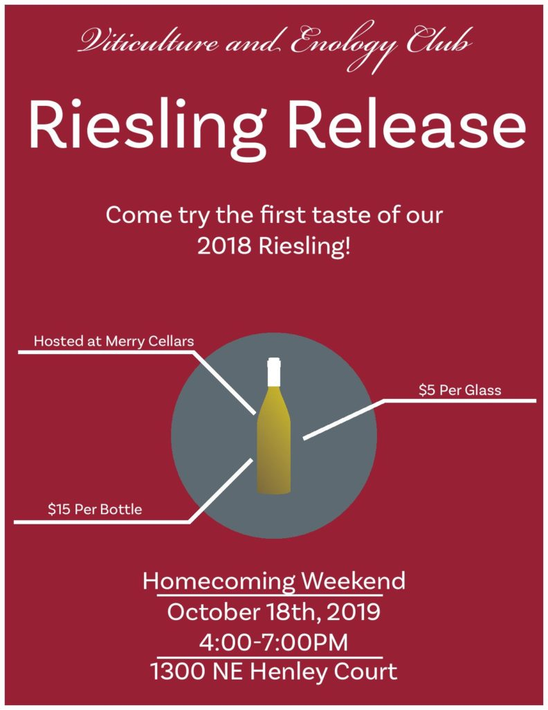 Homecoming Weekend 2019 Event Poster