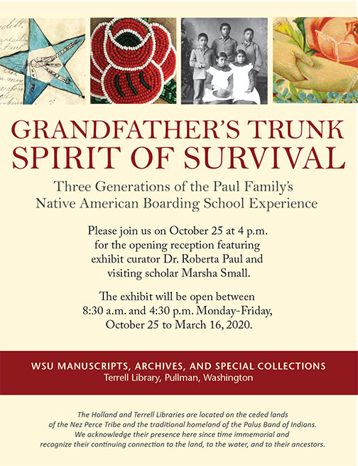 Grandfather's Trunk Spirit of Survival Poster
