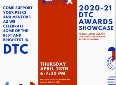 Advertisement for the DTC Spring Awards Showcase