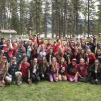 WSU students & alums at Camp Stix