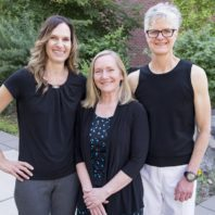 Marian Wilson, Mary Lee Roberts, and Michele Shaw