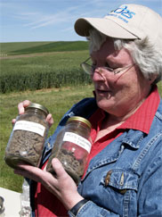 Ann Kennedy, USDA-Agricultural Research Service soil scientist