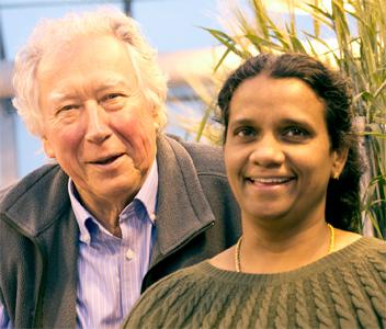 Andy Kleinhofs and Jayaveeramuthu Nirmala.