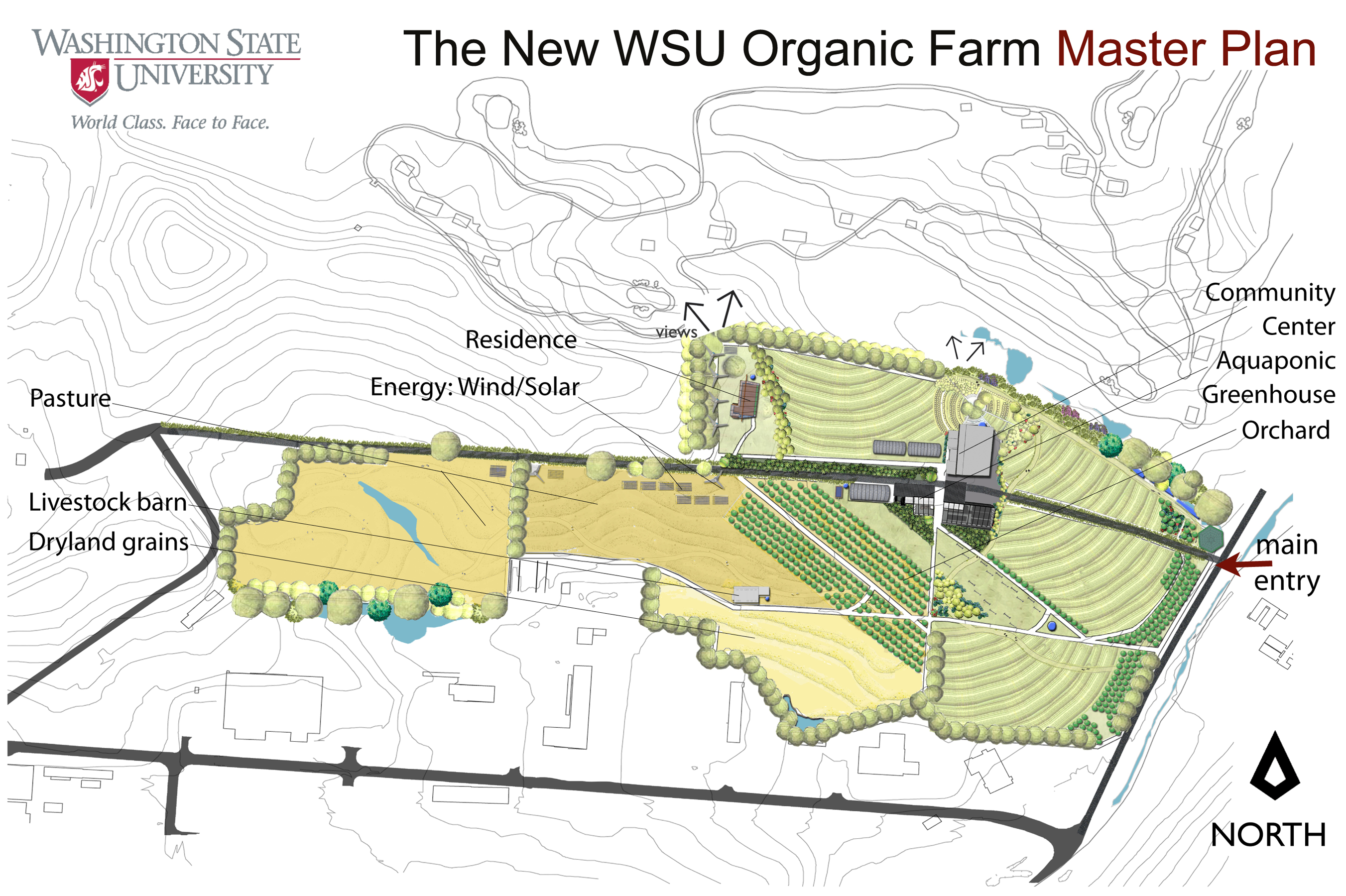 Wsu announces 5 million investment to support organic ag Farm plan