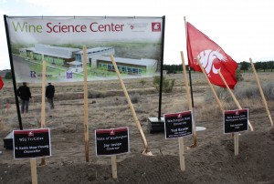WSU Wine Science Center Groundbreaking