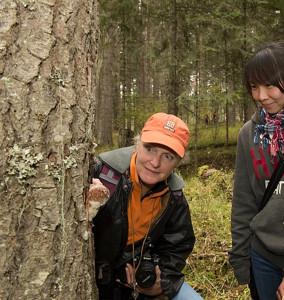 WSU fungus expert Lori Carris. (Photo by Robert Hubner, WSU Photo Services)