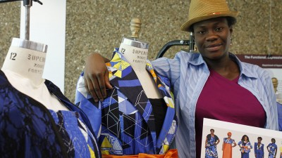 AMDT master's graduate Oluwatosin Adelaja's award-winning project explored ways to fit and flatter women of all body sizes.