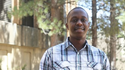 Darlington Sabasi, a doctoral scholar in the School of Economic Sciences, runs his own agribusiness and helps pupils attend school in his native Zimbabwe. This fall, he represents CAHNRS to the Graduate and Professional Student Association
