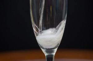 pour close up