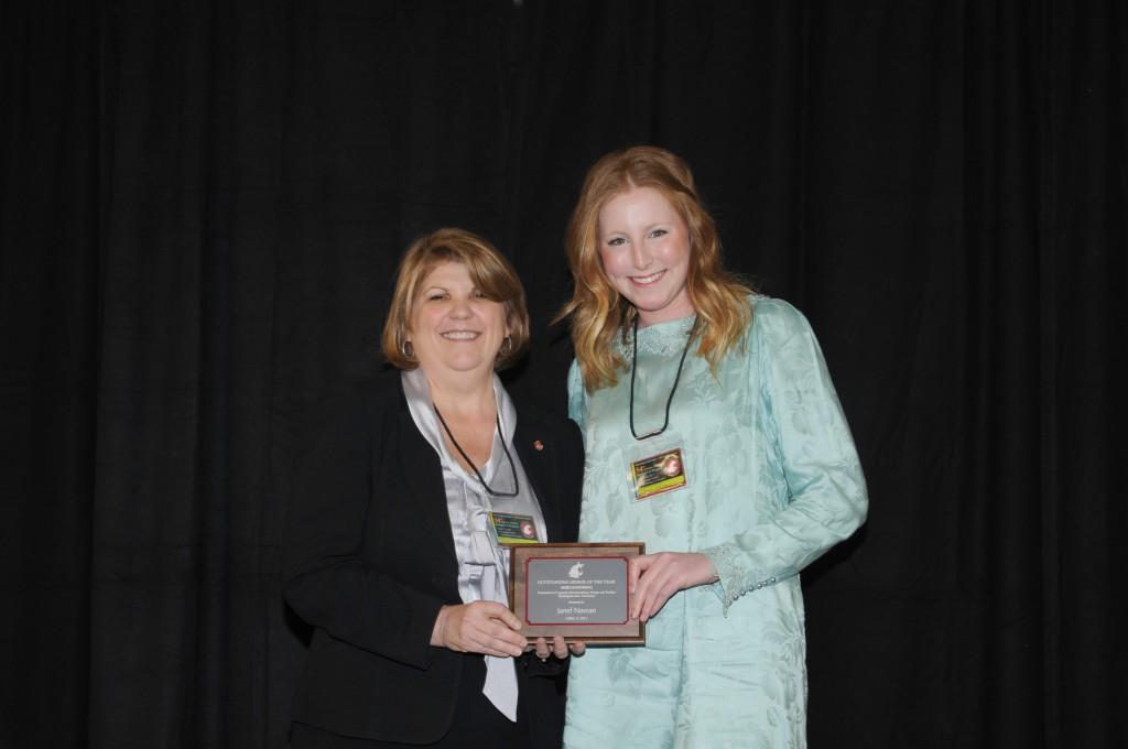 Outstanding Senior Awards Cahnrs Academic Programs