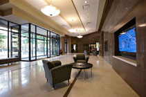 U.S. Bank plaza lobby remodel by CSHQA.