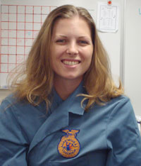 Beth Hammerberg teaches ag science at Wenatchee High School.