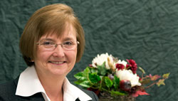 Pamela Vaillancourt, Graduate of WSU Food Science program and recipient of the CAHNRS Women's Leadership Award for Community Leadership and Public Service.