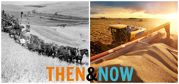 Combine then and now