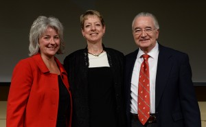Kim Kidwell, Janet Schmidt, and Ron Mittelhammer