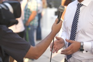 interview with a businessman