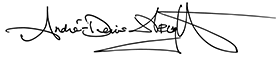 André-Denis Wright's signature