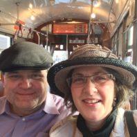 Alumna Susan Bradish with her huband Jim