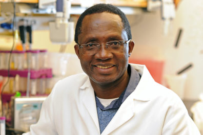 Closeup of Dr. Kariuki Njenga