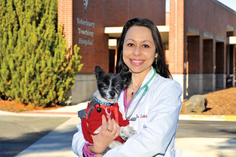 Veterinary behaviorist Leticia Fanucchi