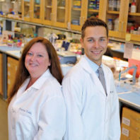 WSU neuroscientists - Dr. Rita Fuchs and Dr. Ryan McLaughlin