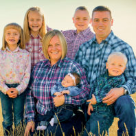 Shawn Sanders ('09 DVM) and family