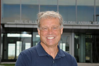 Closeup of Tom Kawula, director Paul G. Allen School for Global Animal Health
